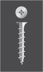 Tornillo Autoperforante  Cabeza Phillips TROMPETA Punta Aguja (Philips Bugle Head)